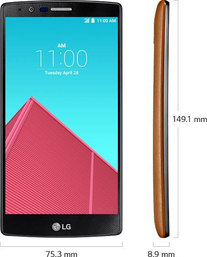 Recensione LG G4: nuove cover e schermo leggermente curvo sono le principali novità estetiche.