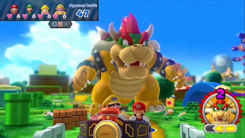 Mario Party 10: Bowser Party consente al giocatore di vestire i panni del personaggio più cattivo della saga.