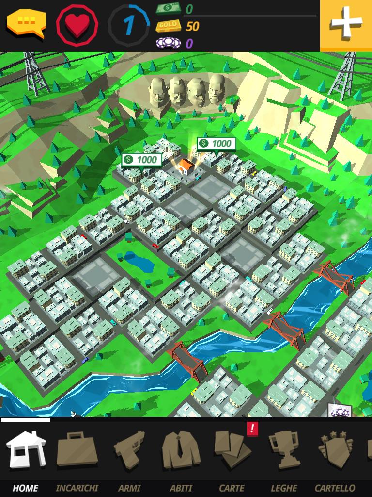 Cartel Kings schermata panoramica paese