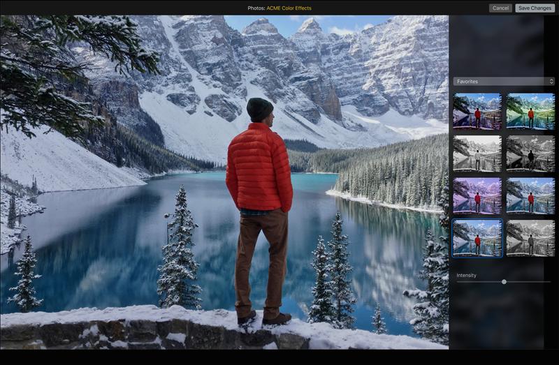 Mac OS X El Capitan. Le caratteristiche: schermata di Foto