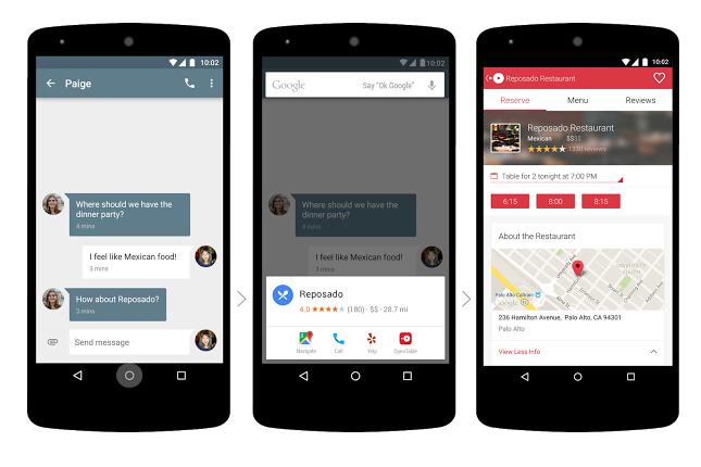 Android M. Tutti i segreti del nuovo sistema operativo Google. Now on tap schermate
