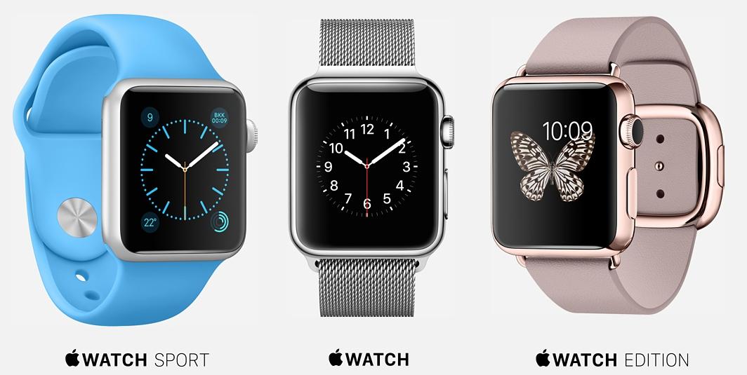 Apple Watch. Al via le vendite, ecco come scegliere. A confronto i tre modelli