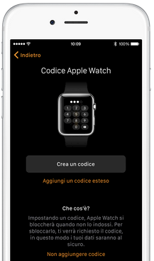 Apple Watch. Come settarlo in 5 passi. Codice Apple Watch