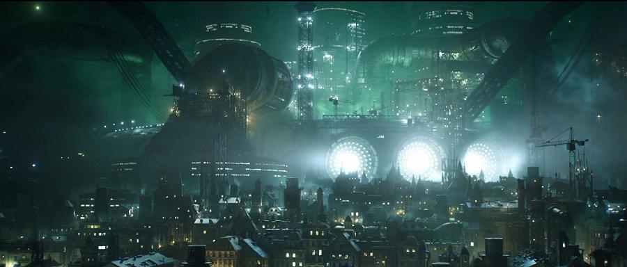 Final Fantasy VII Remake: ecco le prime immagini della futuristica Midgar.