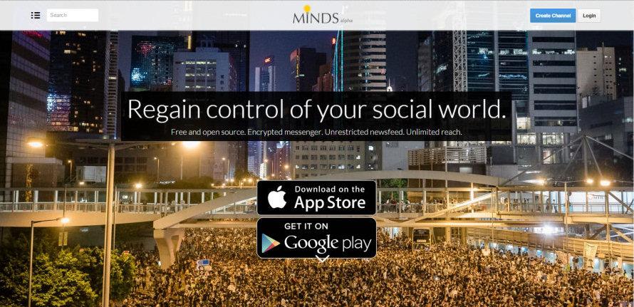 Minds.com, diversamente dagli altri Social la visibilità degli utenti dipenderà dal loro grado di attività.