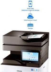 Samsung Cloud Print, connettere la stampante ai dispositivi mobili è semplice e intuitivo.