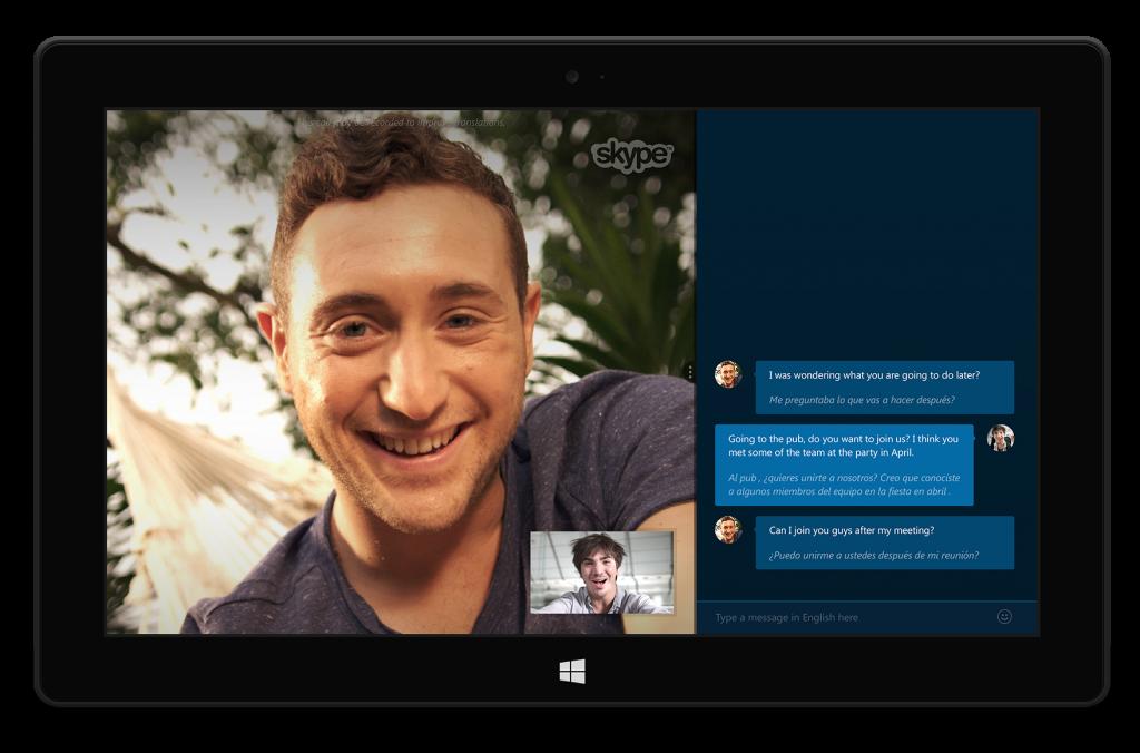 Skype Translator, come funziona: le chat vocali vengono tradotte simultaneamente.