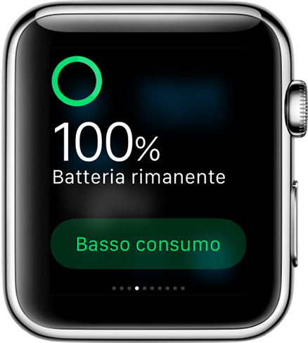 Apple Watch. Come settarlo in 5 passi. Carica rimanente
