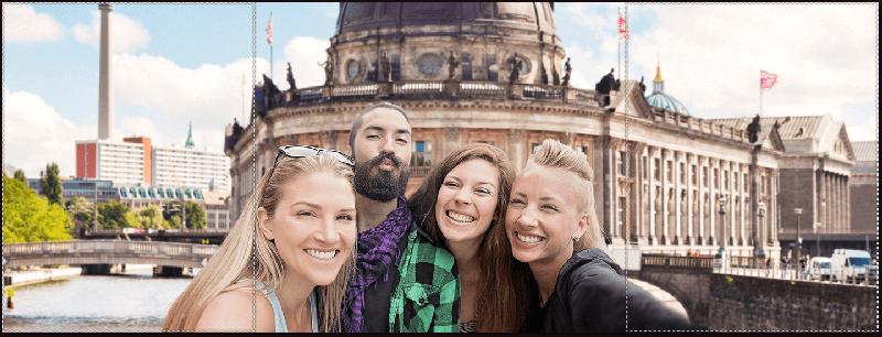 Asus ZenFone Selfie: la modalità panorama consente di scattare con un grandangolo di 140°