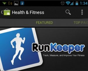 """Con Runkeep hai un """"coach"""" virtuale che ti guida in tutte le fasi dell'allenamento."""