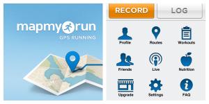 Map My Run pianifica gli allenamenti e controlla la dieta