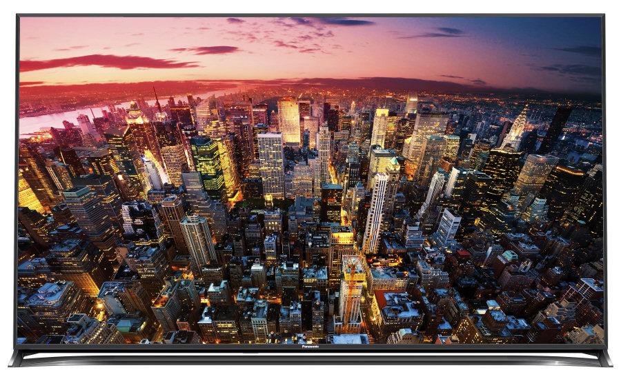 Il Panasonic Viera CX800, top di gamma 2015 a schermo piatto.