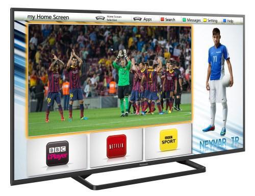 Panasonic Viera AS650, grazie alle personalizzazioni è possibile scegliere un'interfaccia personalizzata e una diversa selezione di contenuti multimediali.