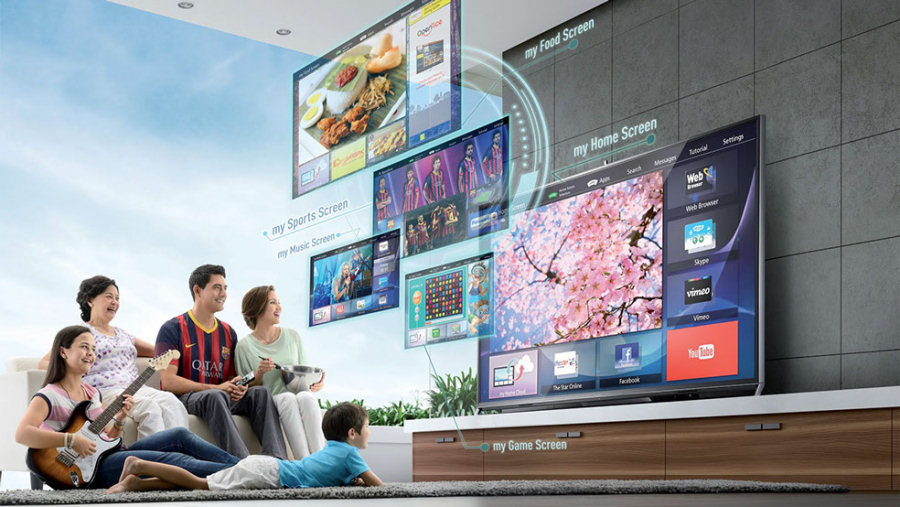 Panasonic Viera AS650, menù e interfaccia ridisegnati grazie a Life+.
