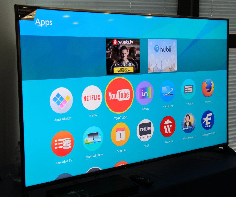 Panasonic Viera, completamente riprogettata l'interfaccia grafica, basata su Firefox OS.