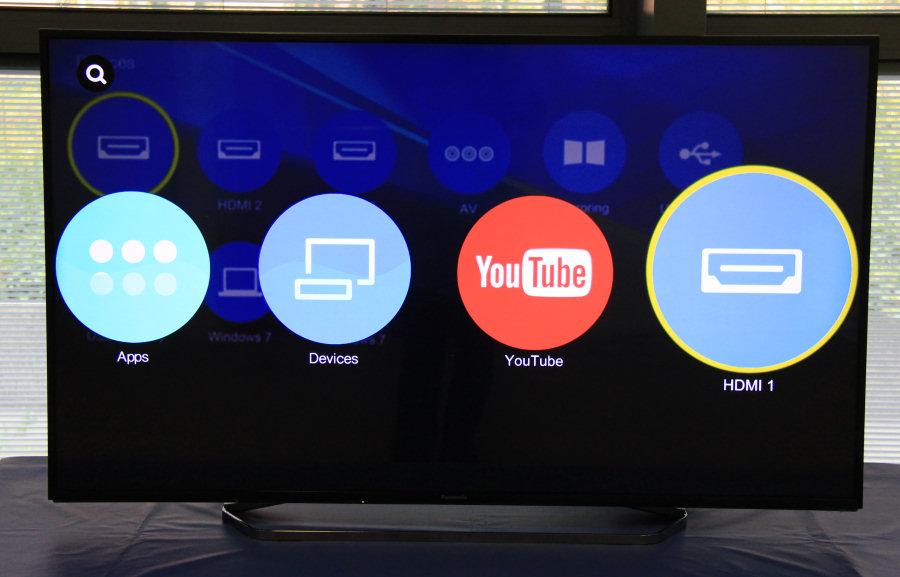 Panasonic Viera, la My Home Screen 2.0 è estremamente personalizzabile.