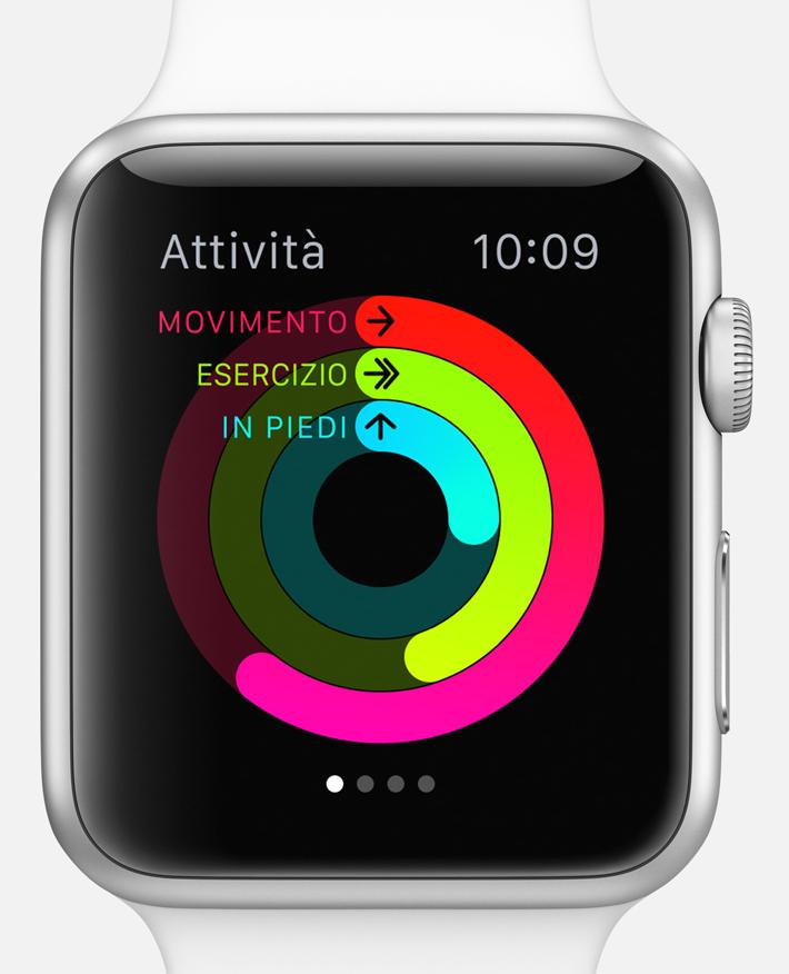 Apple Watch. Come personalizzarlo e configurare app, preferenze e contatti. App Attività