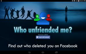 Who unfriended me, una sorta di predecessore di Who deleted me per scoprire chi ci ha tolto l'amicizia da Facebook