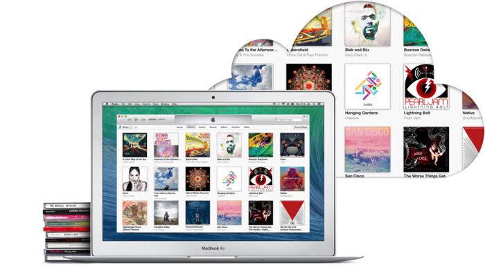 iTunes Match permette di caricare la propria musica su iCloud e ascoltarla in streaming.