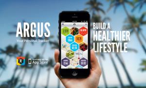 Argus monitora il tuo stile di vita in ogni suo aspetto: ore di sonno, attività fisica e alimentazione