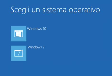 Installare Windows 10 in dual boot con Windows 8.1 o 7