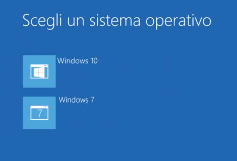Installare Windows 10 in dual boot con Windows 8.1 o 7