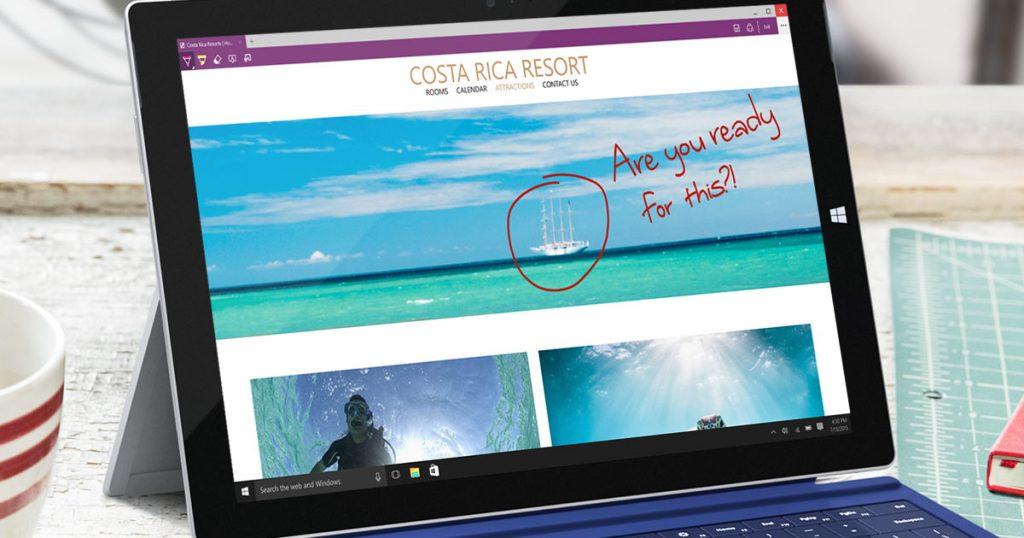 Come usare Microsoft Edge. Edge è il primo browser che permette di inserire note, evidenziare il testo. scrivere e tagliare la pagina web.