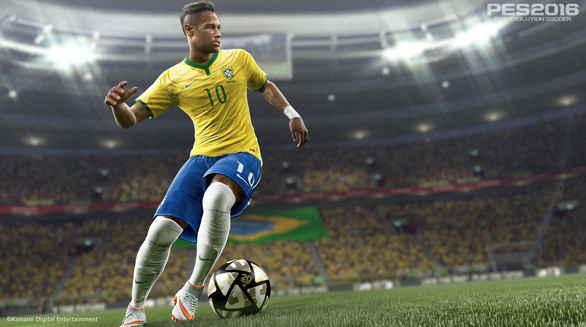FIFA 2016 vs PES 2016: Neymar