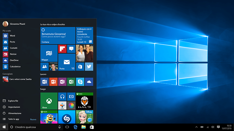 Installare Windows 10: guide, trucchi e segreti per averlo subito e gratis.