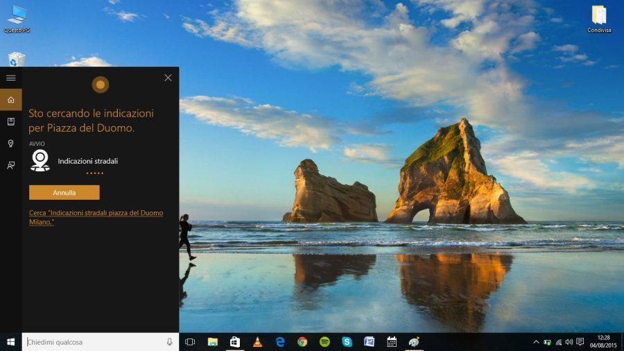 Windows 10: l'assistente vocale Cortana rappresenta una delle novità più attese e interessanti.