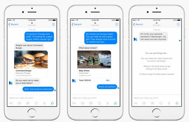 Come funziona Facebook Messenger M