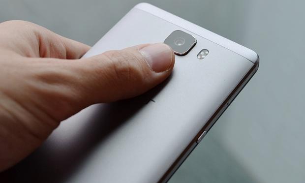 Huawei Honor 7. Le caratteristiche dello scanner digitale, ultrasensibile, a volte troppo.