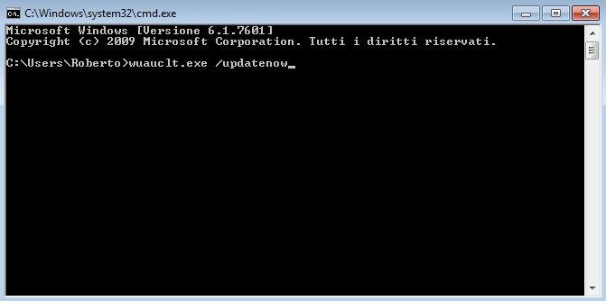 Installare Windows 10: il comando da digitare nel prompt per velocizzare il download dell'aggiornamento.