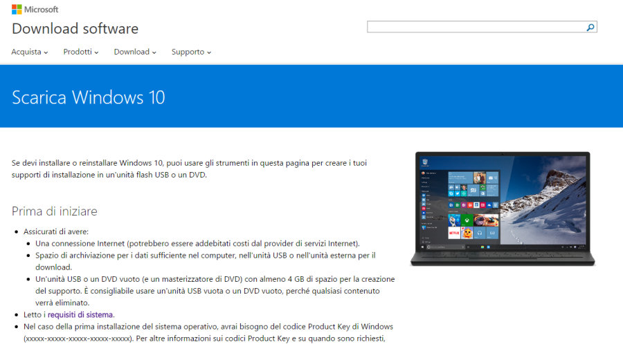 Installare Windows 10: grazie al Media Creation Tool di Microsoft, l'aggiornamento può essere effettuato immediatamente su tutti i PC compatibili.