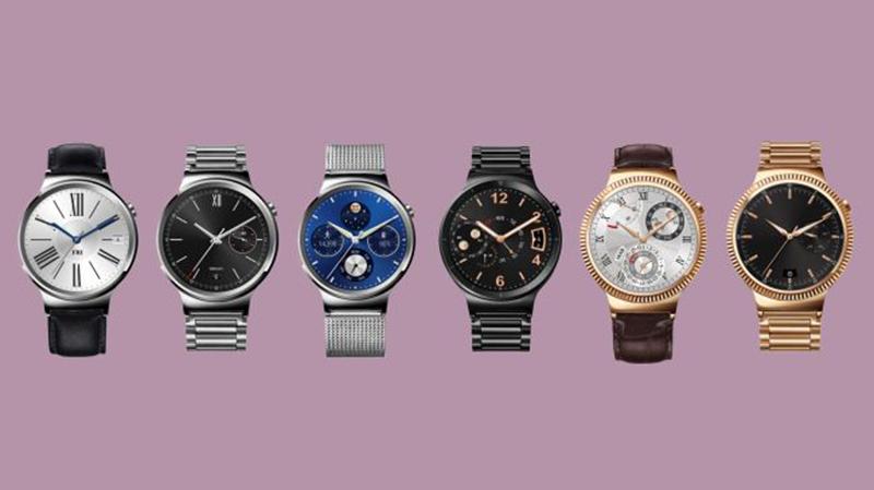Rencesione Huawei Watch: i sei modelli disponibili, fra cui quello in stile blu Milano, molto elegante