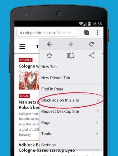 Adblock Plus cos'è, cosa serve: navigando su un sito possiamo decidere se bloccare la visualizzazioni delle pubblicità con Adblock Plus oppure se inserirlo tra i siti della whitelist