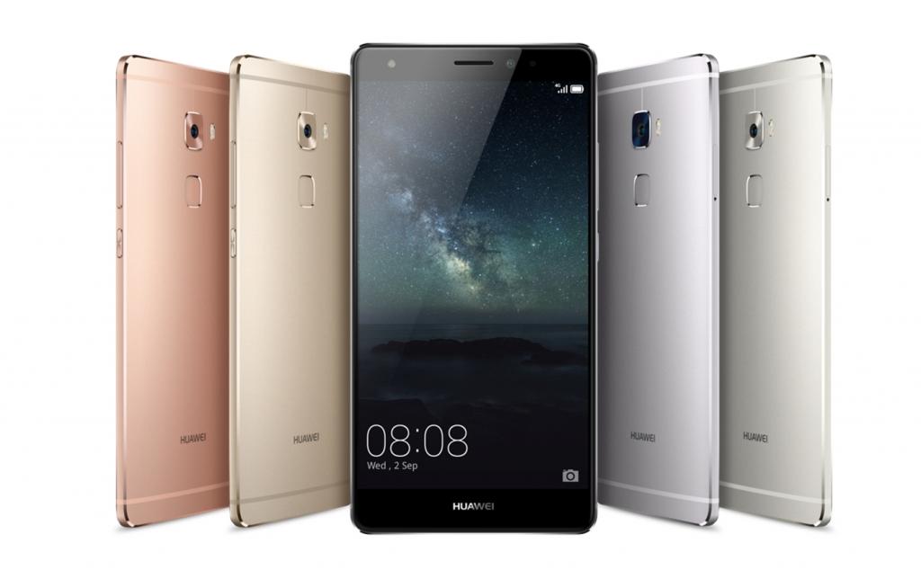Huawei Mate S. Le caratteristiche del design: il Mate S è disponibile in quattro varianti di colore: rosa corallo, oro, grigio titanio e champagne