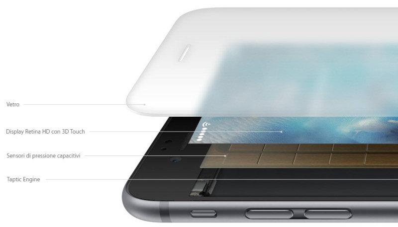 iPhone 6S: i trucchi. Il 3D Touch è un autentico concentrato di tecnologia, nascosto subito sotto lo schermo.