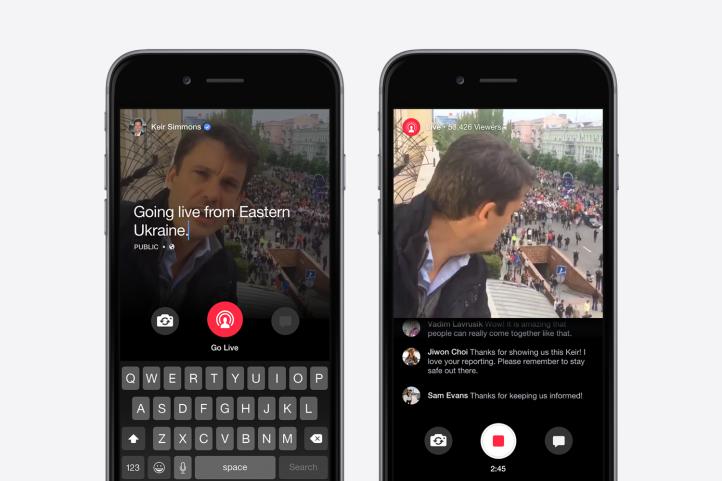 Facebook Live: le dirette video, una volta terminate, vengono pubblicate sul diario o sulla bacheca personale.