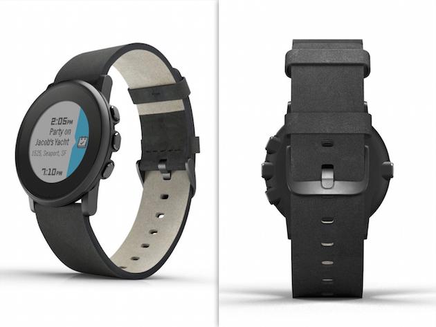 Pebble Time Round permette di scegliere fra una discreta gamma di cinturini e materiali.
