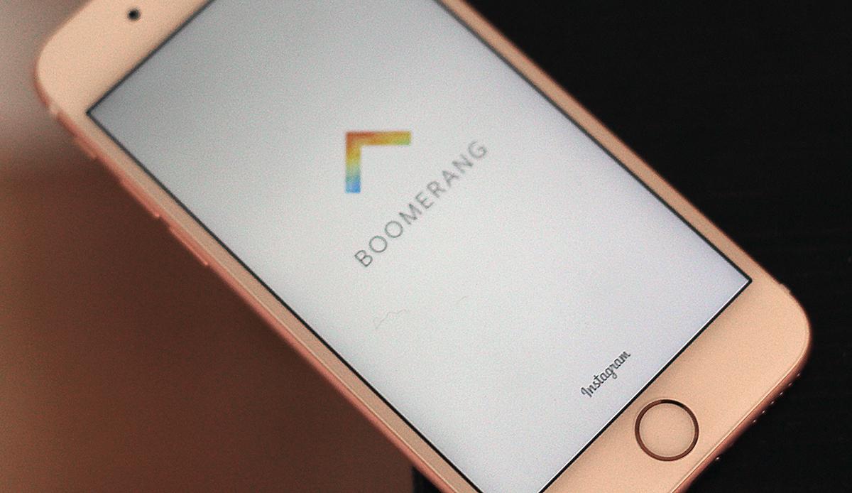 Boomerang è la app autonoma di Instagram e non ha bisogno di login per essere utilizzata