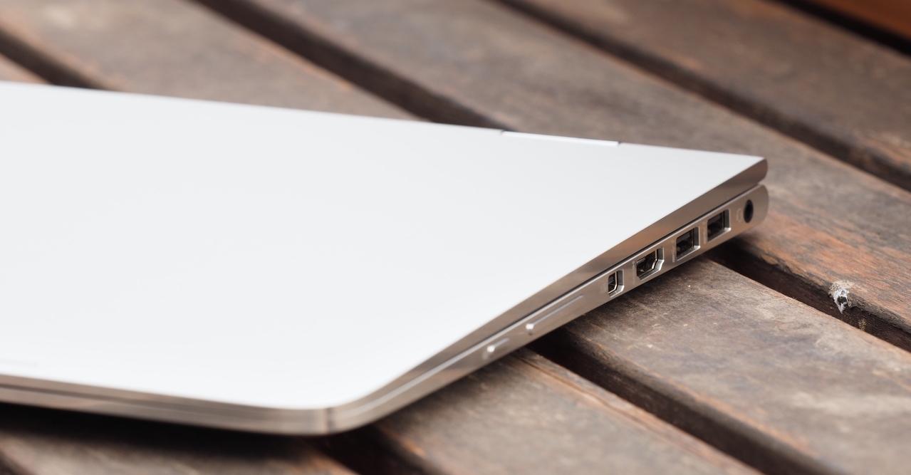 Come si presenta il nuovo laptop HP Spectre x360 chiuso
