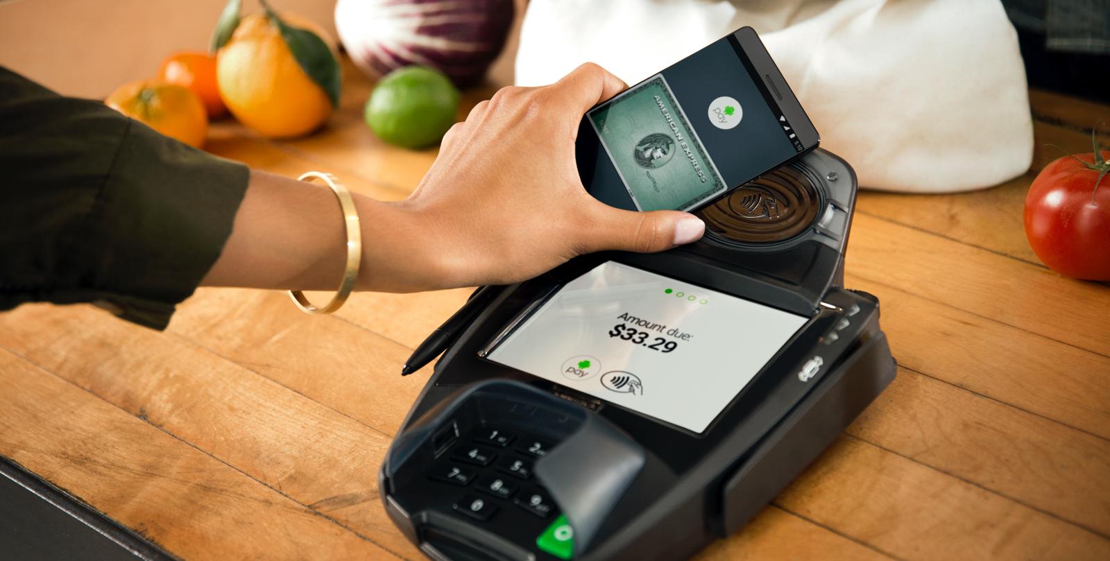 Android Pay di Google è stato lanciato da poco più di un mese negli Stati Uniti