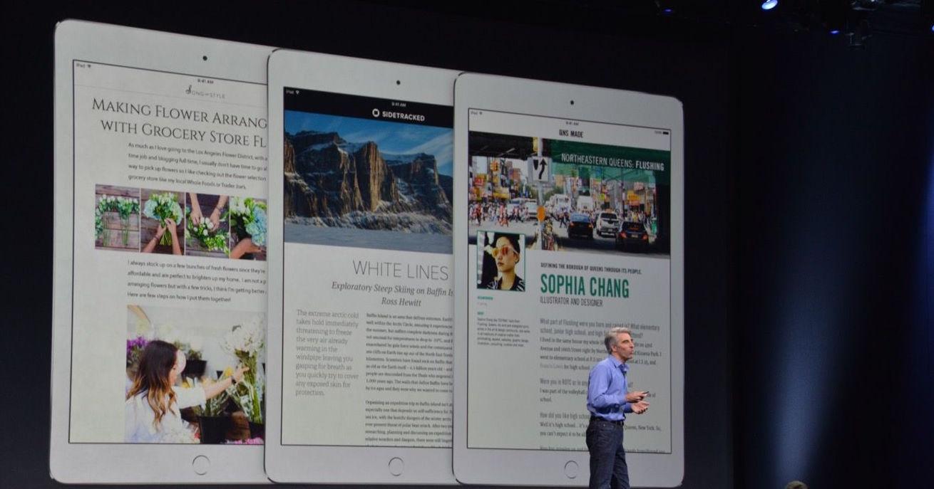 La presentazione della nuova Apple News