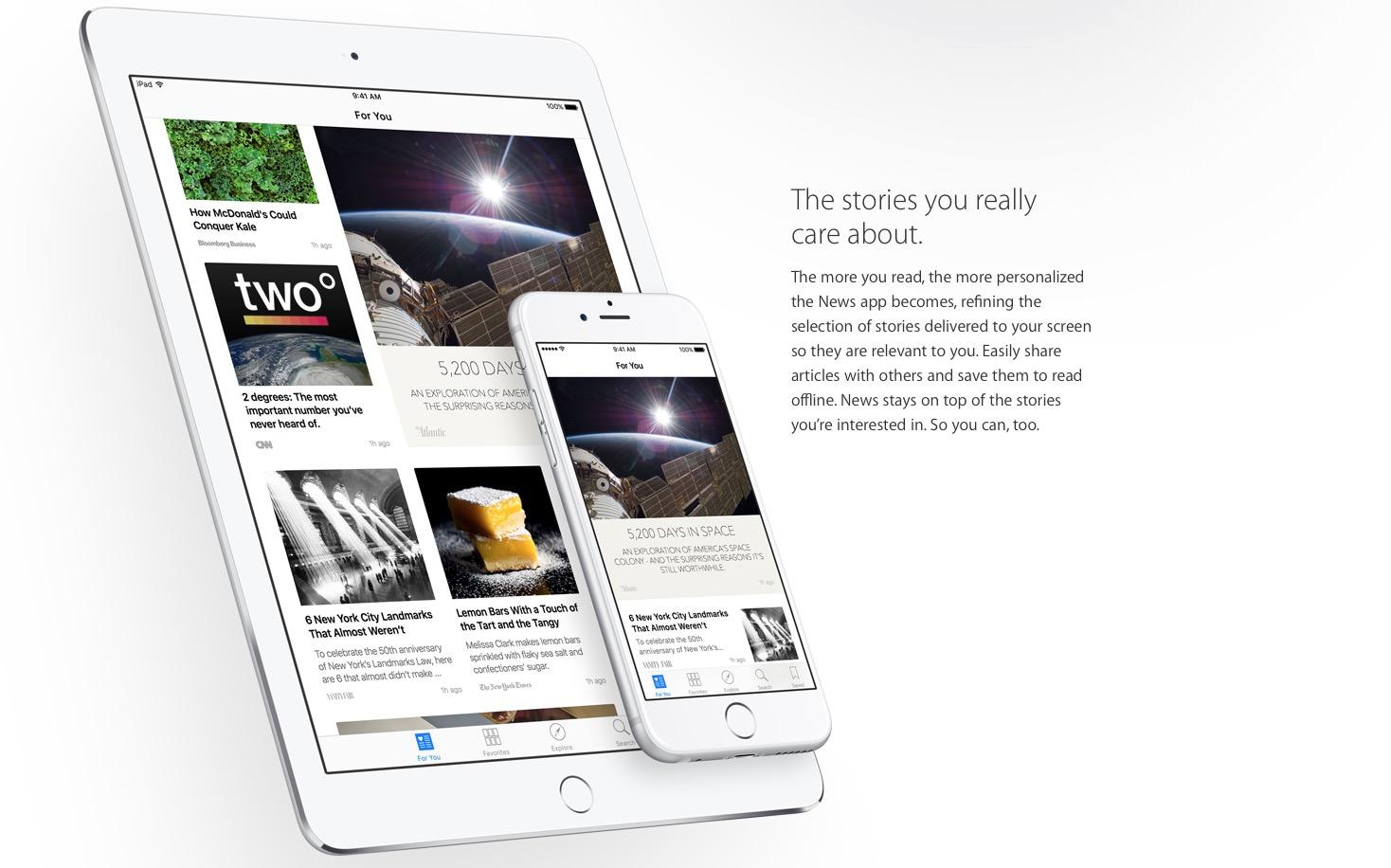 Apple News faciliterà la lettura di articoli su iPhone e iPad