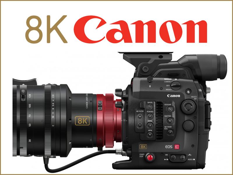 Canon. Le Videocamere in 8K permetteranno di realizzare video, film e documentari con livelli di dettaglio mai visti prima.