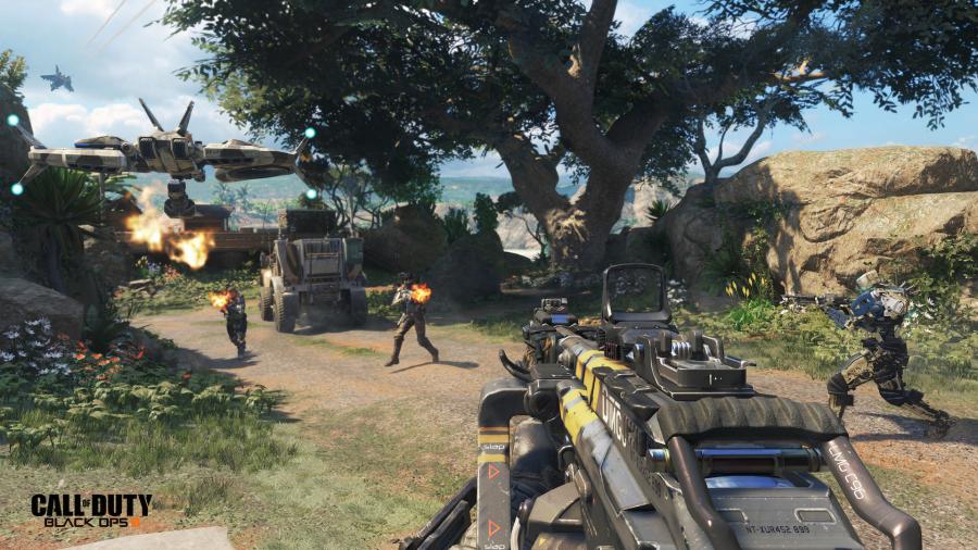 Call of Duty Black Ops III: la nuova IA permette di dar vita a partite combattute e dense di strategia.