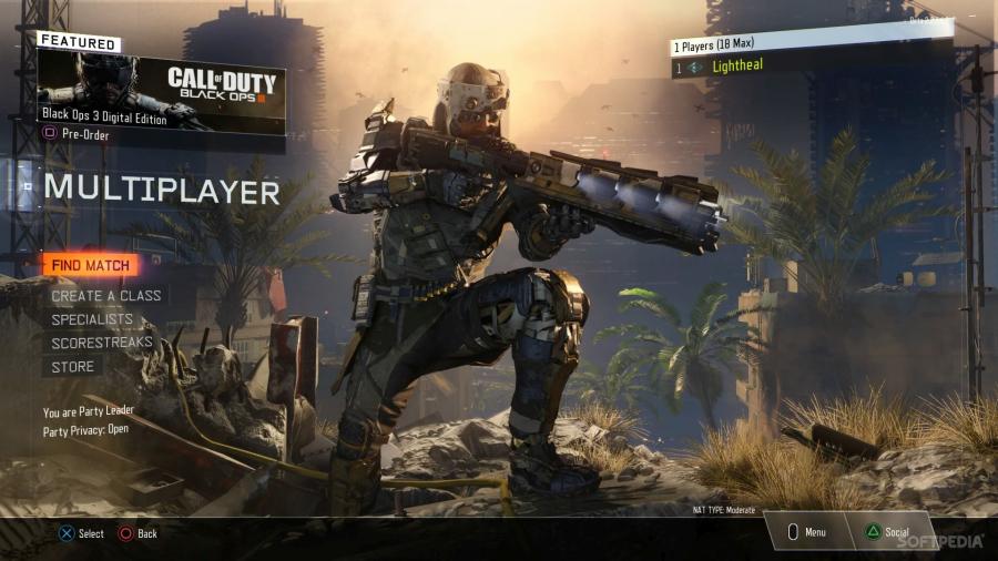 Call of Duty Black Ops III: la personalizzazione del giocatore permette di vivere differenti esperienze di gioco e di creare tattiche personalizzate