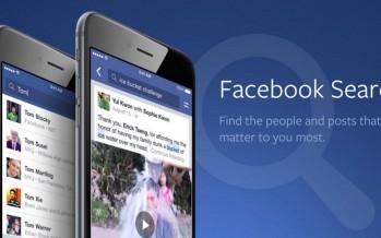 Facebook Search FYI. Il motore di ricerca che sfida Google