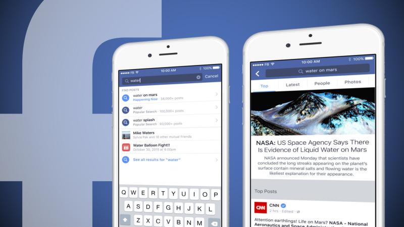Facebook Search FYI: ecco il nuovo motore di ricerca di Facebook che raggruppa i contenuti del social per argomento.